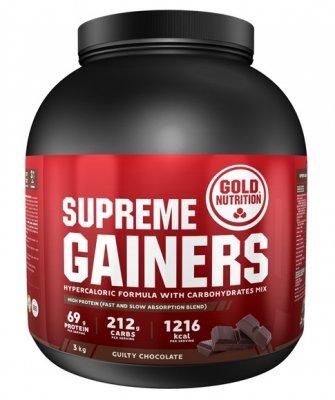 GoldNutrition Supreme Gainers čokoláda 3000g