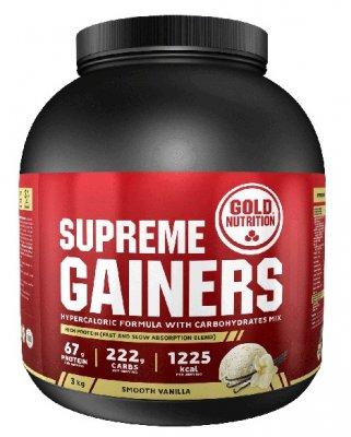 GoldNutrition Supreme Gainers vanilka 3000g