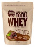 GoldNutrition Total Whey čokoláda-lískový ořech 260g