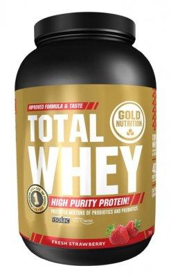 GoldNutrition Total Whey jahoda 1000g
