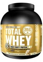 GoldNutrition Total Whey bílá čokoláda 2000g