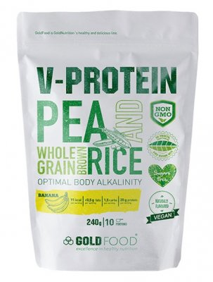 GoldNutrition V-Protein banán 240g
