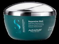 Alfaparf Milano Semi di Lino Rekonstrukční maska pro poškozené vlasy 200ml