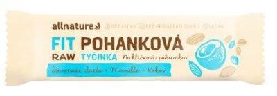 Allnature Bezlepková pohanková tyčinka kokos, datle, mandle 20x45g