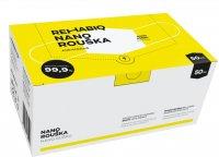 Rehabiq Nano rouška s účinností 12 hodin, jednorázová, 50ks