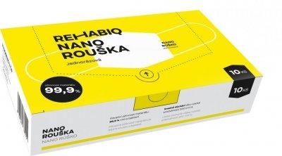 Rehabiq Nano rouška s účinností 12 hodin, jednorázová, 10ks