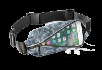 CellularLine Sportovní pouzdro WAISTBAND, SUMMER EDITION s kapsou na příslušenství - design Camou
