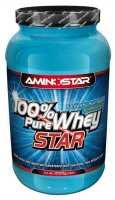 Aminostar 100% Pure Whey Star, Strawberry, 2000g