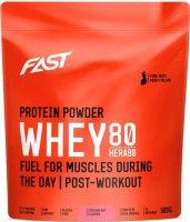 Fast Práškový Protein Hera 80 Jahoda 500g