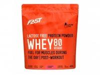 Fast Práškový Protein Hera 80 Jahoda Bez Laktózy 600g
