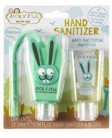 Jack N´Jill Antibakteriální gel na ruce pro děti Zajíček 2x29ml