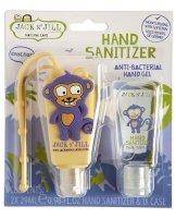 Jack N´Jill Antibakteriální gel na ruce pro děti Opice 2x29ml