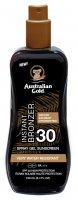 Australian Gold SPF 30 Spray Gel + Bronzer 100ml