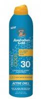 Australian Gold SPF 30 Continuous Spray Fresh & Cool 177ml