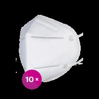 Respirátor FFP2 bílý 10ks