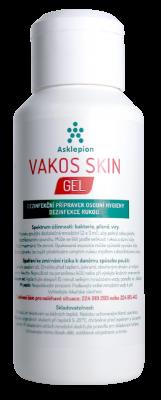 Asklepion Vakos skin gel 125ml