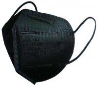 Respirátor FFP2 - černý bez ventilu 25ks