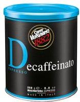 Vergnano Dec Káva mletá bezkofeinová 250g