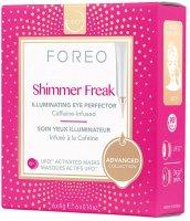 Foreo Shimmer Freak UFO Rozjasňující oční maska 6x6g