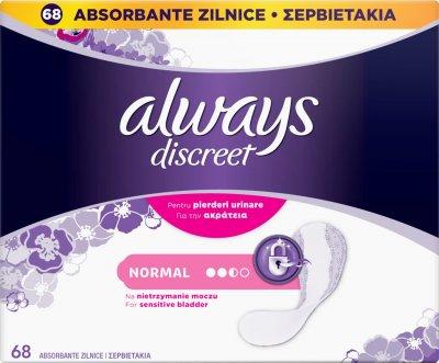 Always Inkontinenční intimky Regular 68ks