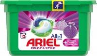 Ariel gelové kapsle Fiber Protection 12ks