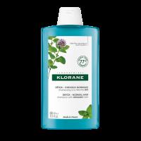Klorane Šampon detoxikační BIO máta vodní 400ml