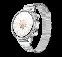 Aligator Chytré hodinky Watch Lady, stříbrné
