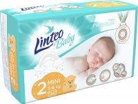 Linteo Baby Plenky Prémium Mini (3-6kg) 34ks