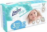 Linteo Baby Plenky Prémium Midi (5-9kg) 54ks