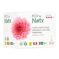 Eco by Naty Dámské ECO tampóny super plus 15ks