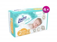 Linteo Baby Plenky Prémium Mini (3-6kg) 136ks