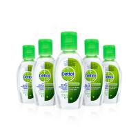 Dettol Antibakteriální gely na ruce 5x50 ml (4+1)