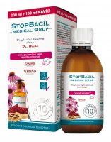 Stopbacil Medical sirup Dr. Weiss 200+100ml - Dr. Weiss Stopbacil sirup 150 ml