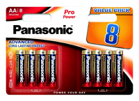 Panasonic LR6PPG/8BW Pro Power Gold