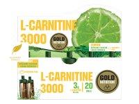 GoldNutrition L-Carnitine 3000 mg citron 20 ampulí