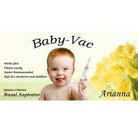 Arianna Baby-Vac Odsávačka hlenů na vysavač