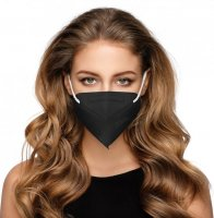 Dama Trade respirátor FFP2 černý 10ks