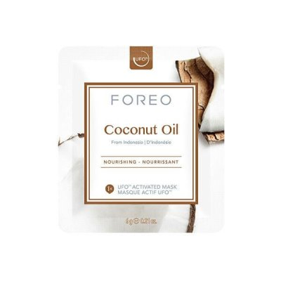 Foreo Plátýnková maska Coconut Oil 3x6g