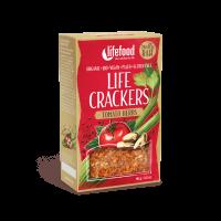 Lifefood LIFE CRACKERS BIO RAW Rajčatové 90g