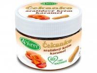 4Slim Čekanko-arašídový krém Slaný karamel 250g