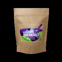 Lifefood Life Breakfast Granola borůvková s proteinem a chia BIO RAW 220g