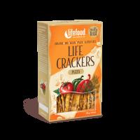 Lifefood LIFE CRACKERS BIO RAW Á la pizza 70g