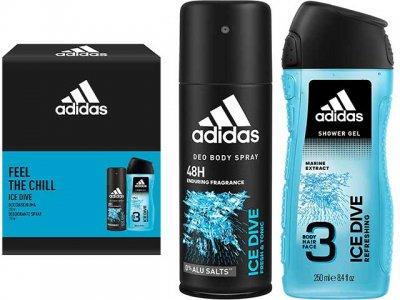 Adidas dárková sada FEEL THE CHILL, Ice dive 2ks