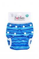 Bobánek Rostoucí plavky pro miminka - Modré proužky