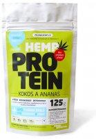 Zelená Země Konopný protein 125g kokos s ananasem