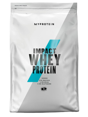 Myprotein Impact Whey Protein přírodní vanilka 2500g