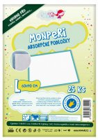 MonPeri absorpční podložky 25 ks 60x90 cm