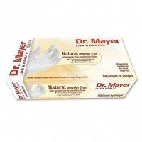 Dr.Mayer Rukavice latexové nepudrované vel.M 100ks
