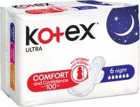 KOTEX UT Night vložky 6ks