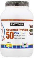 Survival Nutrition Gourmet Protein 50 Fair Power banán 2000g - Survival Gourmet Protein 50 Fair Power 2000 g